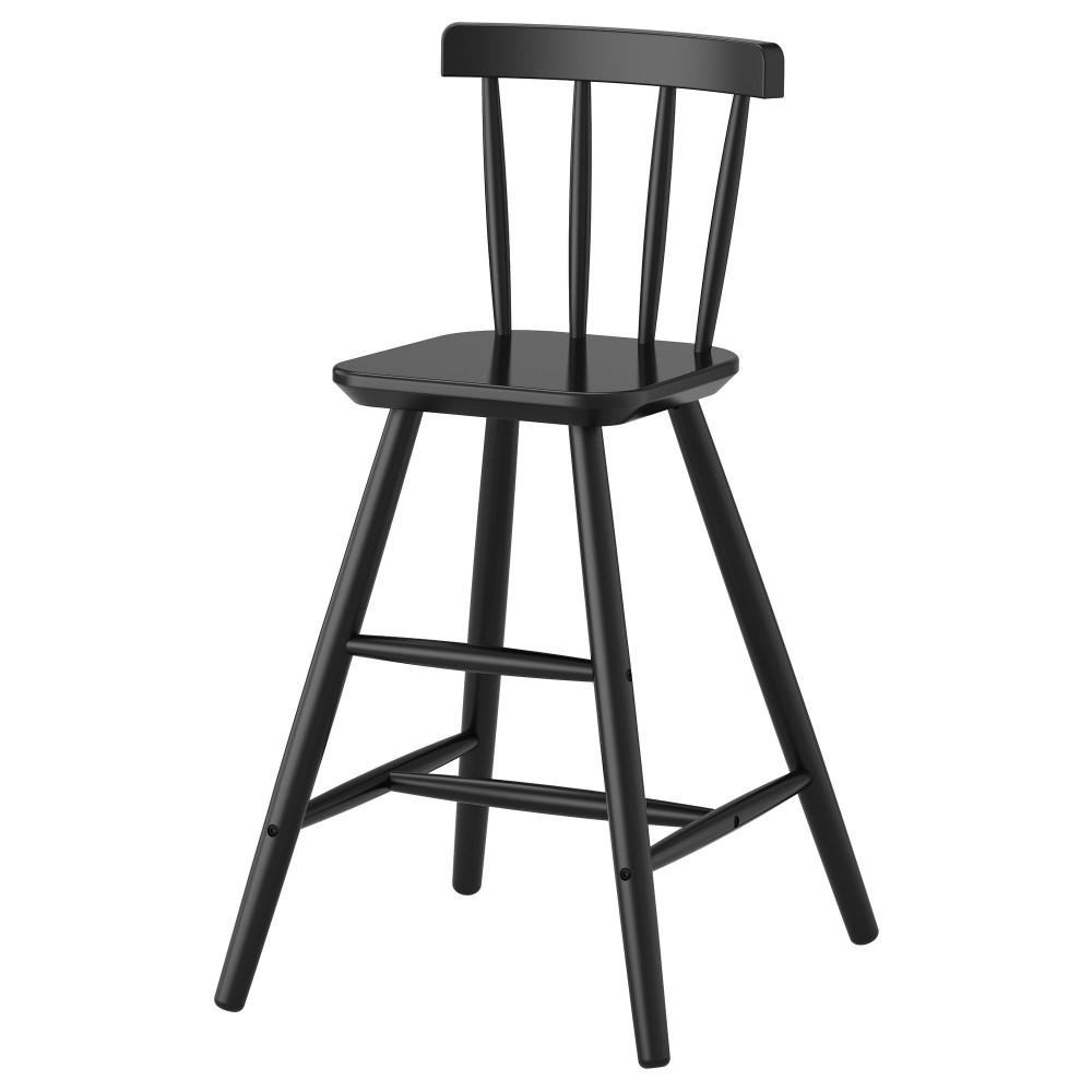 Детский стул АГАМ черный  фото 1